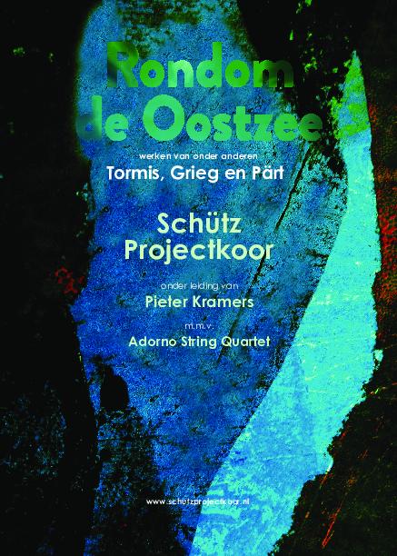 omslag van programmaboekje 'Rondom de Oostzee'