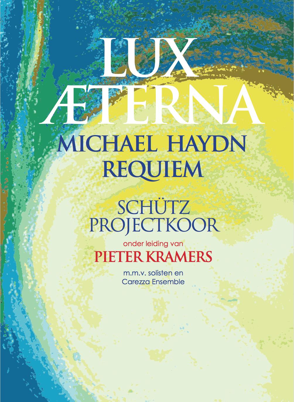 omslag van programmaboekje 'Lux Æterna'